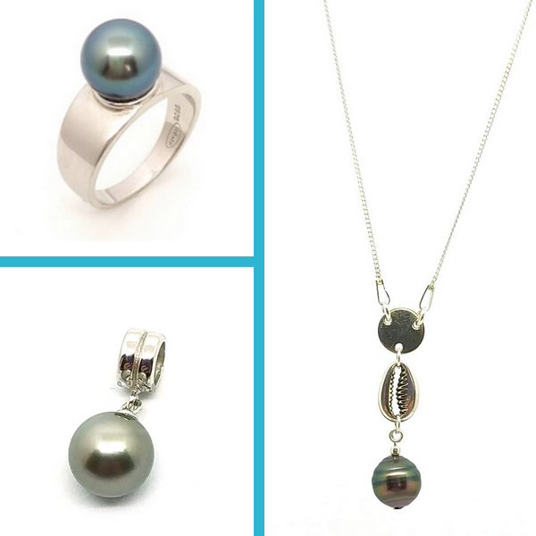 Poé Tahiti, bijoux en argent 925 et perles de culture de Tahiti